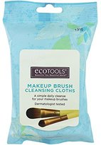 EcoTools Makeup Brush Cleansing Cloths, 0.46 Ounce