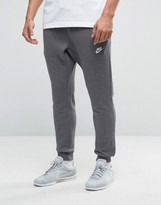 Nike Slim Joggers In Grey 804408-071