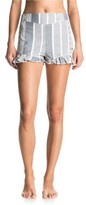 Roxy Women's All Perfect Cotton Ruffle Hem Shorts