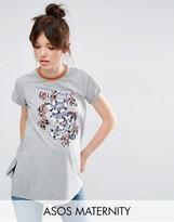 Asos Floral Print T-shirt