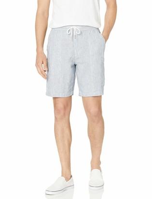 Reyn Spooner Men's Linen Pinstripe Cargo Short