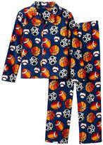 Boys Jelli Fish Fleece 2-Piece Pajama Set