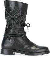 Diesel Black Gold combat boots