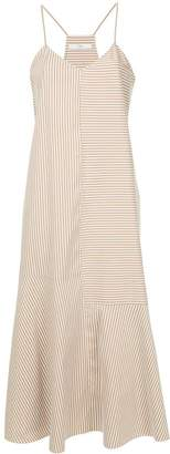 Tibi Kaia stripe cami dress