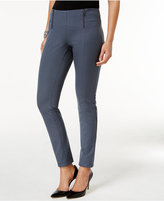 Alfani Petite Zip-Trim Skinny Pants, Only at Macy's