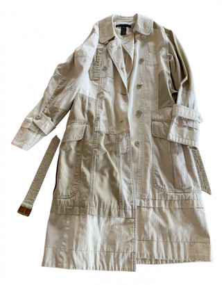 Marc Jacobs Beige Cotton Trench coats