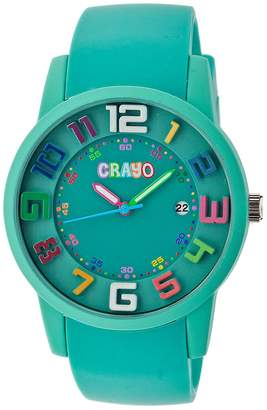 Crayo Women's Watches Teal - Teal Festival Watch