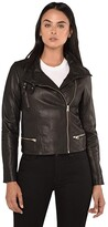 AllSaints Bales Biker (Black) Women's Clothing