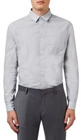 Topman Men's Trim Fit Geometric Print Shirt