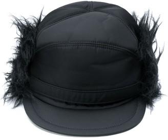 Prada faux fur hat