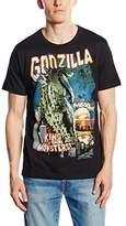 Logoshirt Men's Godzilla - King Of The Monsters Short Sleeve T-shirt,X-Large