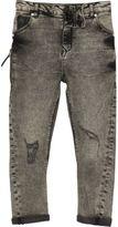 River Island Boys grey acid wash Tony slouch jeans
