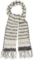 Missoni Open Knit Pattern Scarf