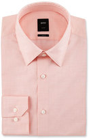 BOSS Tailored Slim-Fit Dress Shirt, Light Orange