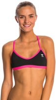 TYR Solid Crosscutfit Tieback Bikini Swimsuit Top 8145546