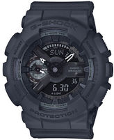 G-Shock S Series Stainless Steel and Resin Strap Watch