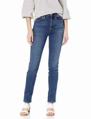 Level 99 Women's Sloan Seamed High Rise Button Fly