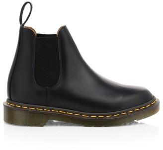 Comme des Garcons x Dr. Martens Leather Chelsea Boots