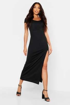 boohoo Cap Sleeve Maxi Dress