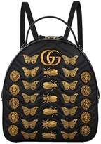 Gucci Marmont Gold Bug Backpack
