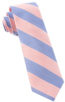 The Tie Bar Peach Rsvp Stripe Tie