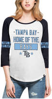 '47 Women's Tampa Bay Rays Triple Crown Raglan T-Shirt