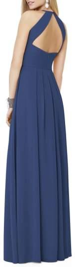 Women's Social Bridesmaids Matte Chiffon Gown
