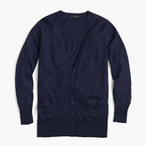 J.Crew Merino wool long cardigan