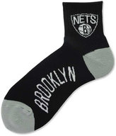 For Bare Feet Brooklyn Nets Ankle TC 501 Medium Socks