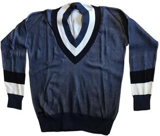 Lacoste Live Blue Cotton Knitwear for Women