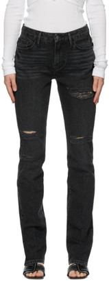 Frame Black Le Mini Boot Jeans