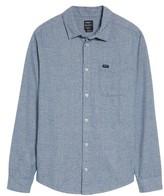 RVCA Men's Current Static Woven Shirt