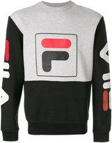 Fila logo colourblock sweater