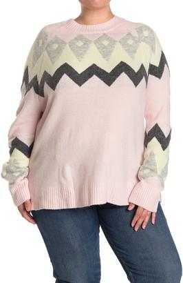 Como Vintage Crew Neck Sweater (Plus Size)