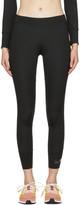 adidas by Stella McCartney Black 'The Performance' 7/8 Leggings