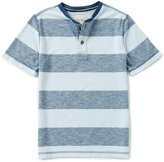 Lucky Brand Big Boys 8-20 Striped Short-Sleeve Henley Tee