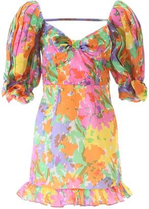 Alessandra Rich Multicoloured Mini Dres