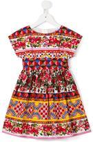 Dolce & Gabbana Mambo print dress