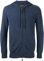 N.Peal zip up hoodie - men - Cashmere - S