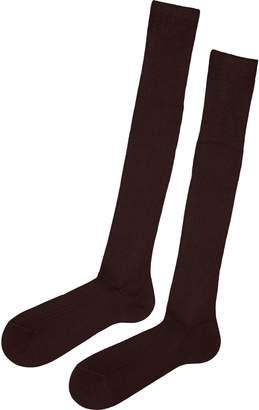 Calzedonia Tall Ribbed Egyptian Cotton Socks