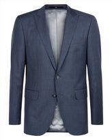 Wool Sharkskin Regular Jacket