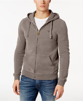 Barbour Men's Garment-Dyed Full-Zip Hoodie