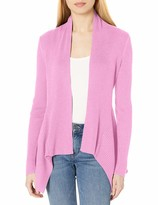 Thumbnail for your product : Daily Ritual Amazon Brand Women's Ultra-Soft Ribbed Draped Cardigan Sweater