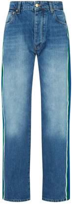 Victoria Victoria Beckham Victoria, Victoria Beckham Stripe Detail Arizona Jeans