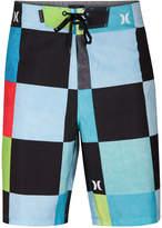 Hurley Men's Phantom Kingsroad Check 20and#034; Board Shorts