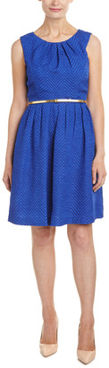Ellen Tracy Petite Fit & Flare Dress