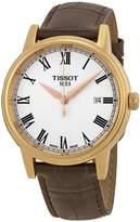 Tissot T-Classic Carson White Dial Rose Gold-tone Men's Watch