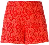 Giamba lace over-lay shorts - women - Polyester - 40