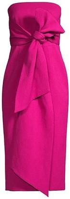 Rebecca Vallance Andie Tie Midi Dress