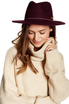 Vince Camuto Snake Chain Wool Panama Hat